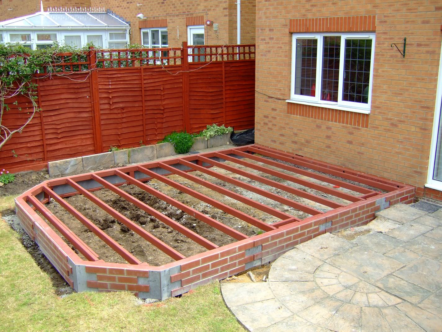Steel base extension